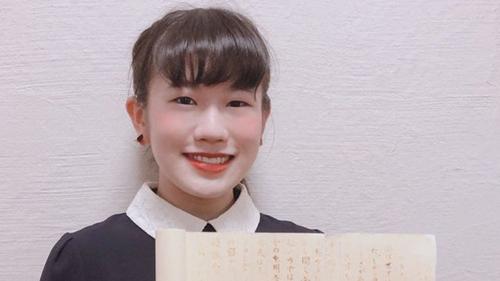 Nữ sinh viết luận bằng mực vô hình của ninja - ảnh 1