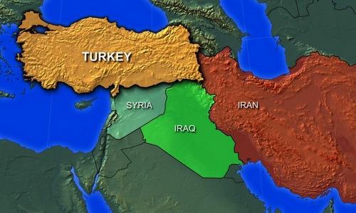 Iran tập trận sát Thổ Nhĩ Kỳ - ảnh 2