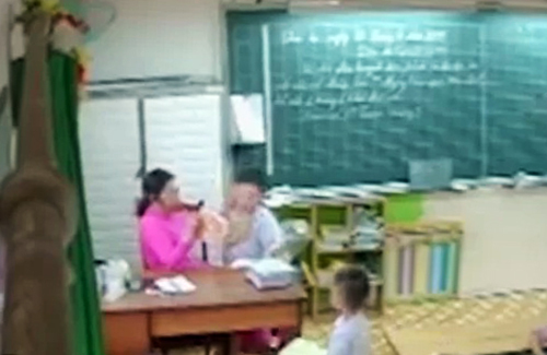 TP HCM yêu cầu xử lý vụ cô giáo đánh học sinh - ảnh 1