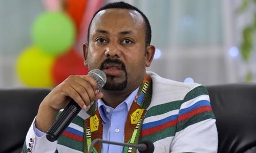 Thủ tướng Ethiopia Abiy Ahmed tại Kaffa ngày 15/9. Ảnh: AFP.