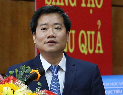 Ông Nguyễn Hoàng Linh phát biểu tại sự kiện. Ảnh: HT