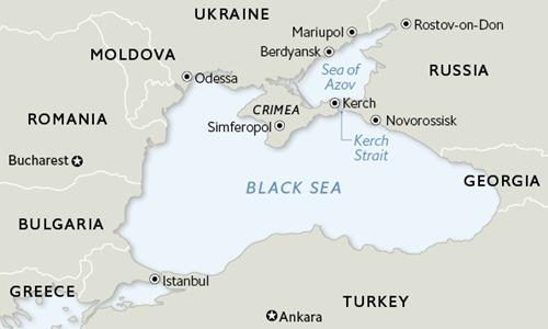 Tàu chiến Nga giám sát khu trục hạm Mỹ tại Biển Đen - ảnh 2