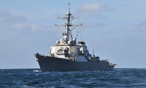 Tàu chiến Nga giám sát khu trục hạm Mỹ tại Biển Đen - ảnh 1