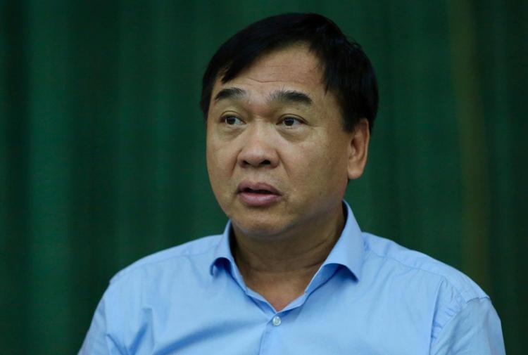 Ông Lê Văn Dục, Giám đốc Sở Xây dựng Hà Nội. Ảnh: Văn Dũng