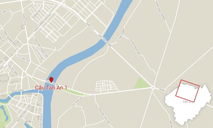 Long An xây thêm cầu qua sông Vàm Cỏ Tây - ảnh 2