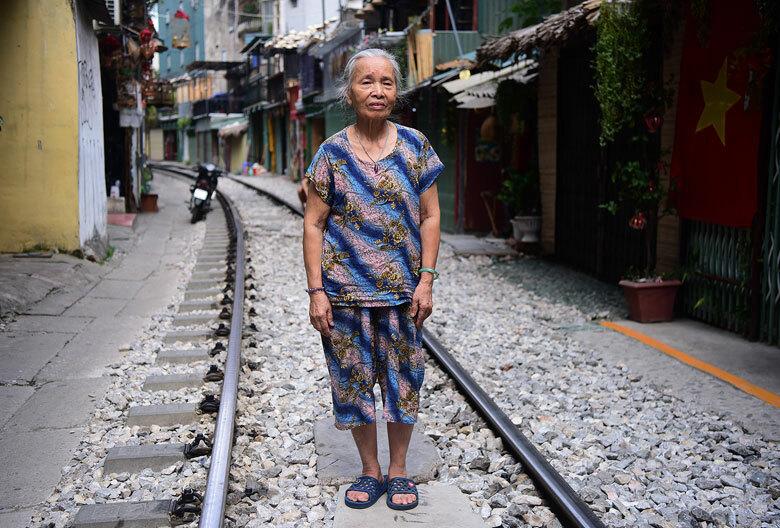Cuộc sống hơn 60 năm ở xóm đường tàu -