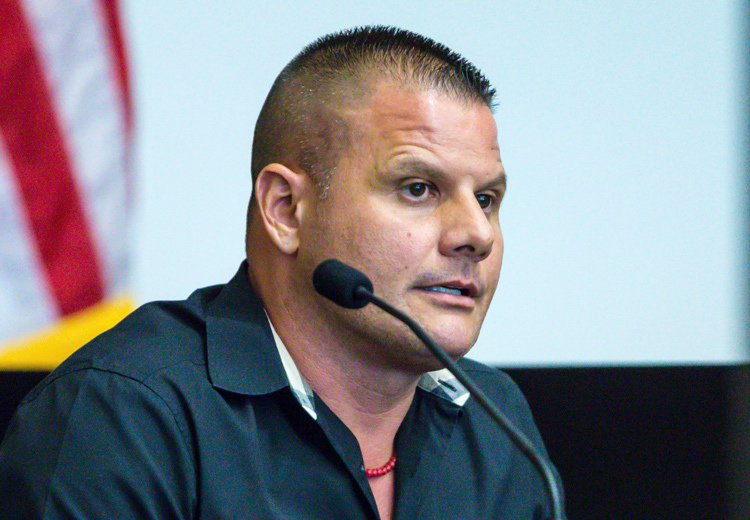 Michael Dippolito cố gắng hoàn lương sau khi ra tù. Ảnh: AP.