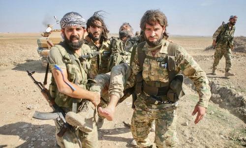 Các thế lực tranh giành vùng đông bắc Syria - ảnh 2
