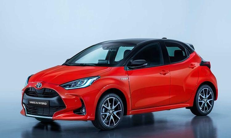 Toyota Yaris thế hệ thứ 4 dự kiến giới thiệu tại Tokyo Motor Show 2019.