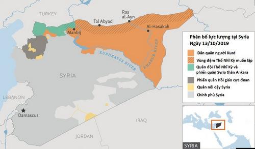 Các thế lực tranh giành vùng đông bắc Syria - ảnh 3
