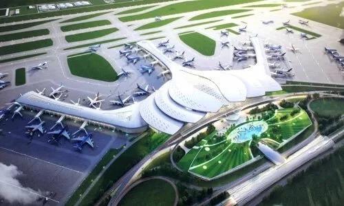 Phối cảnh sân bay Long Thành. Ảnh: MT