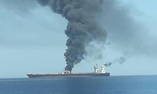 Iran sắp tố cáo thủ phạm tấn công tàu dầu - ảnh 1