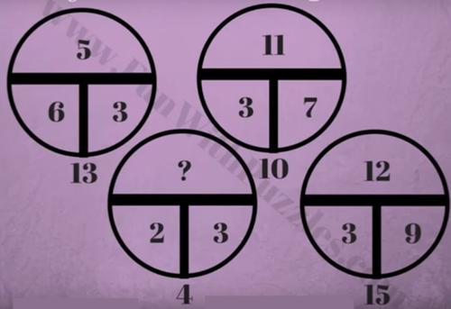 Tìm quy luật của năm câu đố toán học - 2