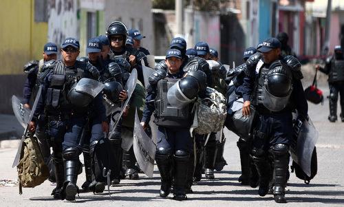 Nỗi cay đắng của cảnh sát Mexico - ảnh 2