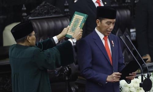 Tổng thống Indonesia tuyên thệ nhậm chức nhiệm kỳ hai - ảnh 1