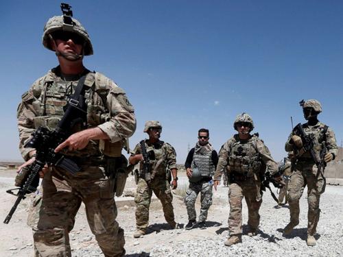 Mỹ âm thầm rút quân khỏi Afghanistan - ảnh 1