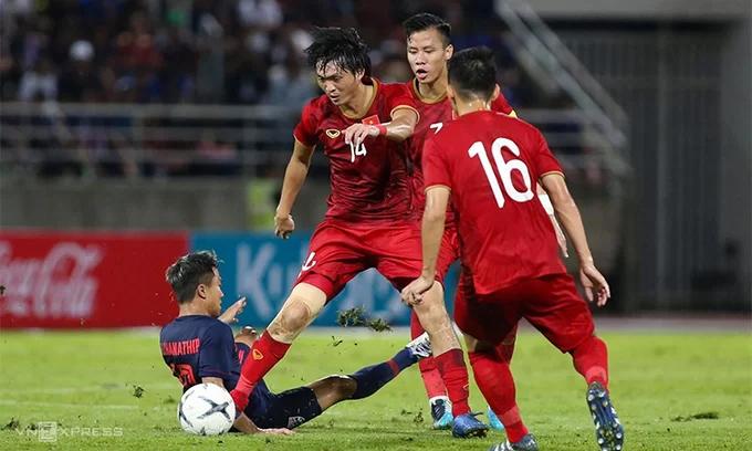 HLV Park Hang-seo muốn giành trọn sáu điểm khi tiếp đón UAE và Thái Lan. Ảnh: Lâm Thoả.
