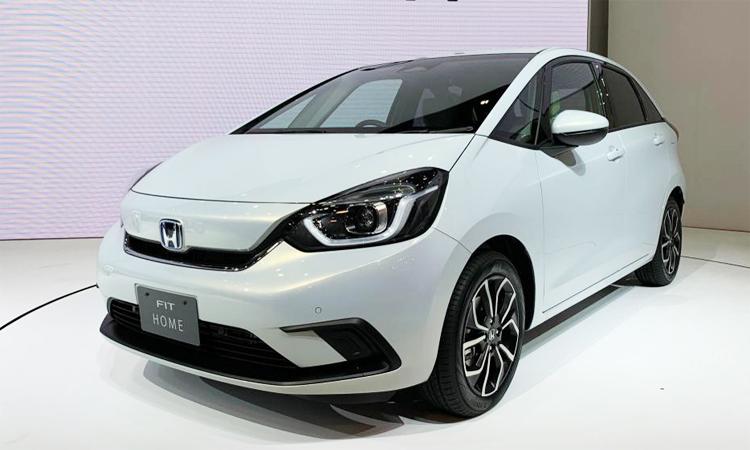 Honda Jazz/Fit ra mắt tại Tokyo Motor Show 2019. Ảnh: Auto Express