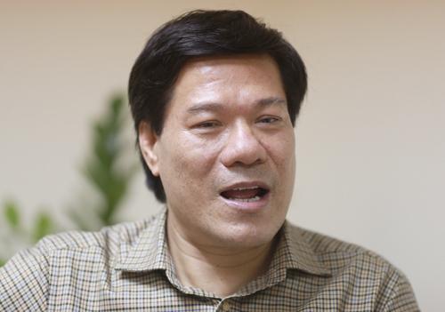 Ông Nguyễn Nhật Cảm, Giám đốc Trung tâm kiểm soát bệnh tật Hà Nội. Ảnh: Tất Định