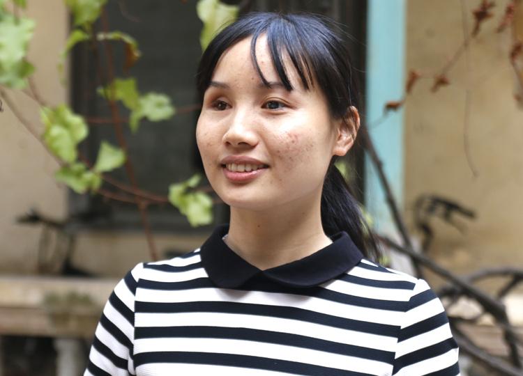Cô gái khiếm thị trở thành á khoa ĐH Khoa học Xã hội và Nhân văn - ảnh 1