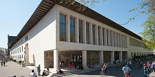 Toà nhà chính của Đại học Basel ở Petersplatz, Basel. Ảnh: University of Basel