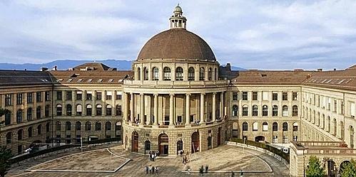 Một góc khuôn viên ETH Zurich. Ảnh: ETH Zurich