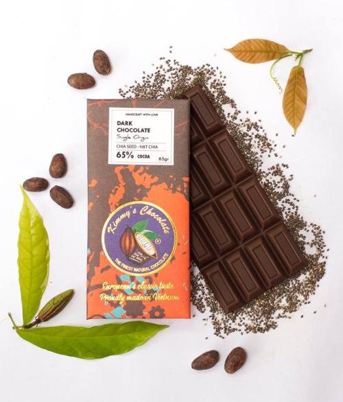 Nên bảo quản lạnh chocolate hạt chia hoặc để ở nơi khô ráo, thoáng mát.