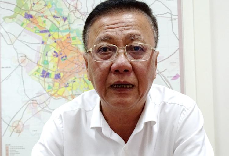 Ông Nguyễn Thanh Toàn - Phó giám đốc Sở Quy hoạch Kiến trúc TP HCM. Ảnh: Hà An.