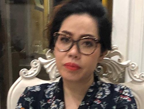 Bà Phạm Thị Tuyết Nhung. Ảnh: Công an TP HCM