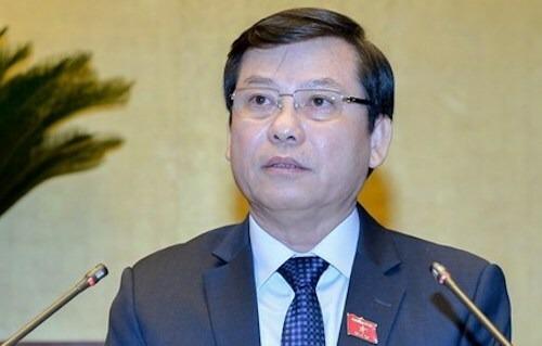 Viện trưởng Viện Kiểm sát nhân dân tối cao Lê Minh Trí. Ảnh: Trung tâm báo chí Quốc hội