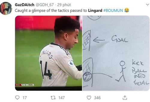 Lời nhắc của HLV đến cầu thủ người Anh cách dứt điểm.