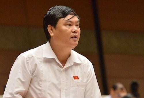 Đại biểu Trần Hồng Hà (Vĩnh Phúc). Ảnh: Trung tâm báo chí Quốc hội