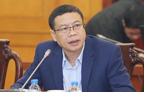 Ông Lê Xuân Định, tân Thứ trưởng Bộ Khoa học và Công nghệ. Ảnh: VGP