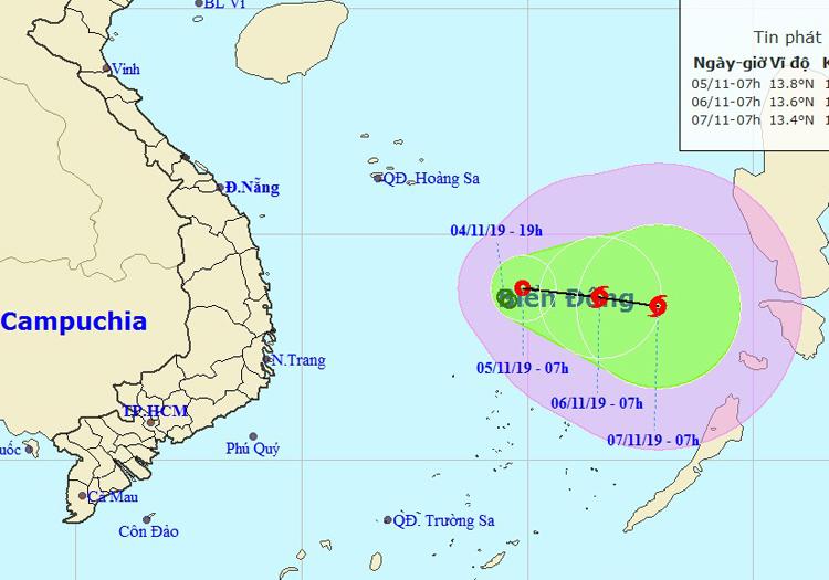 Áp thấp nhiệt đới phức tạp, có thể thành bão