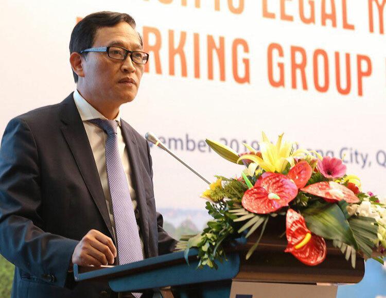 Thứ trưởng Trần Văn Tùng phát biểu khai mạc. Ảnh: XT