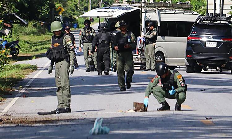 Thái Lan bắt nghi phạm tấn công trạm gác - ảnh 1