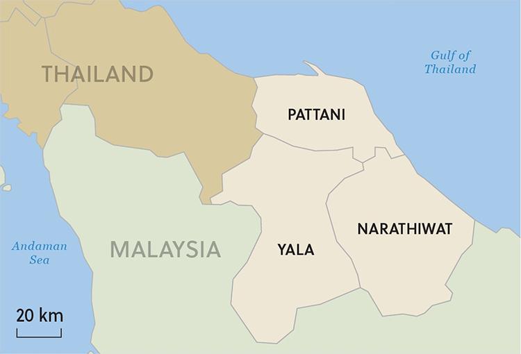 Thái Lan bắt nghi phạm tấn công trạm gác - ảnh 2