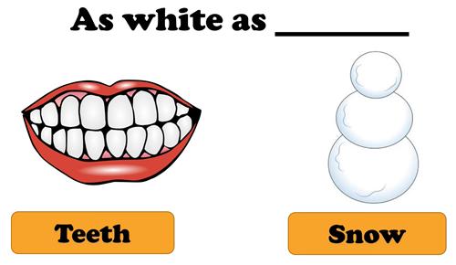 Phân biệt thành ngữ dạng so sánh trong tiếng Anh - 7