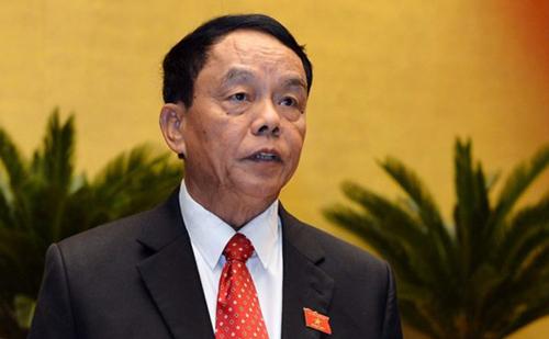 Ông Võ Trọng Việt, Chủ nhiệm Uỷ ban Quốc phòng và An ninh. Ảnh: Trung tâm báo chí Quốc hội
