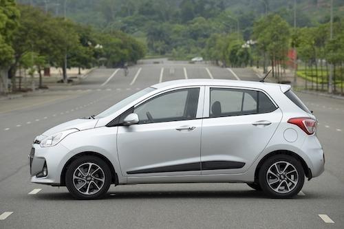 Hyundai i10 lăn bánh tại Việt Nam. Ảnh: Thắng Trần