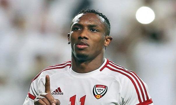 Khalil là cầu thủ dày dạn kinh nghiệm bậc nhất của UAE. Ảnh: Al-Ain.