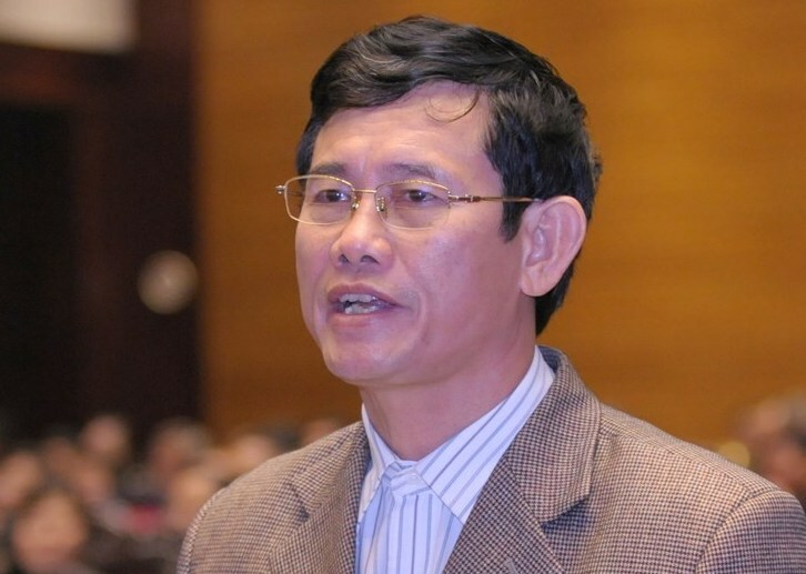 Đại biểu Nguyễn Ngọc Phương. Ảnh: Trung tâm báo chí Quốc hội