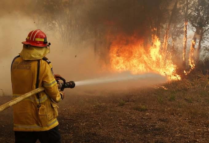 Cháy rừng hoành hành Australia
