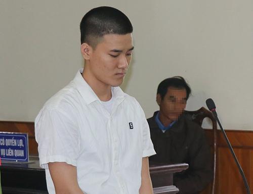 Bị cáo Giang tại tòa. Ảnh: Đ.H