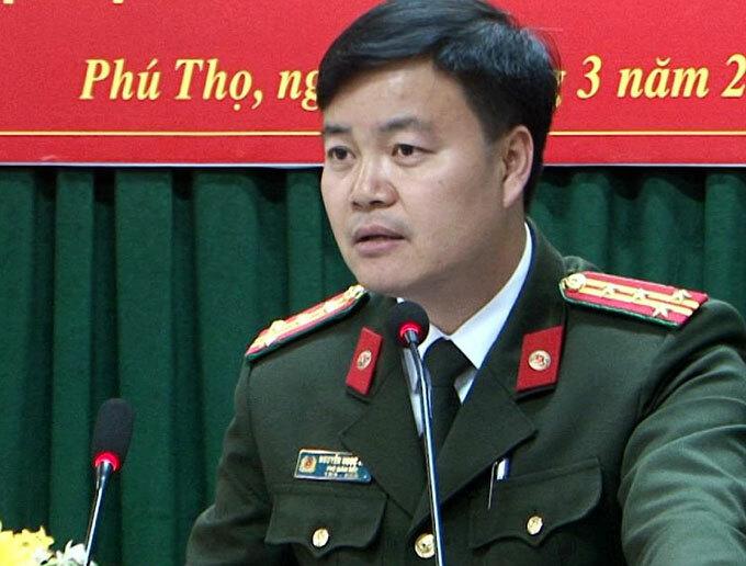 Đại tá Nguyễn Ngọc Vân. Ảnh. Công an tỉnh Phú Thọ