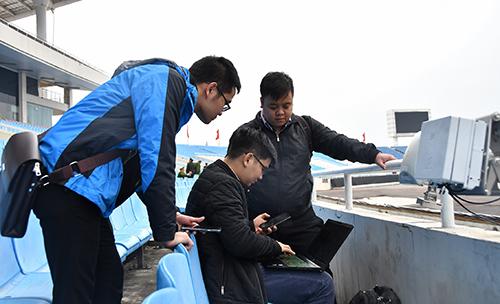 Công nghệ phủ sóng hiện đại của Viettel cho trận Việt Nam - UAE - ảnh 1