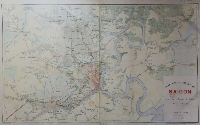 Sài Gòn từ thế kỷ 19 qua bản đồ