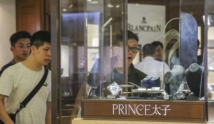 Đài Loan bắt nghi phạm trộm đồng hồ ở Hong Kong - ảnh 1