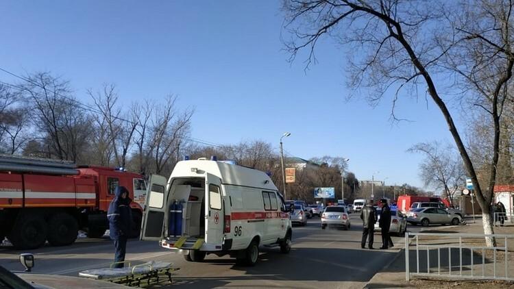 Nổ súng trong trường học Nga, hai người chết - ảnh 1
