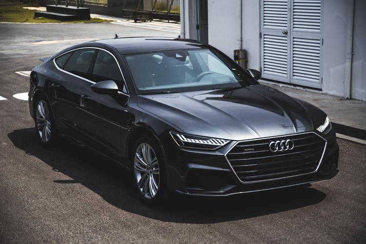 Audi A7 Sportback mới thêm nhiều nâng cấp - 1